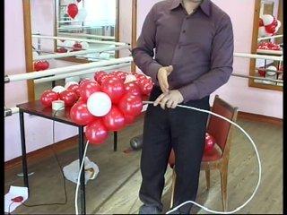 Как сделать сердце своими руками из шаров